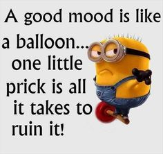 good mood ruined