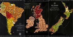 Amérique du Sud, Royaume Uni et Nouvelle Zélande ©Chine ©Henry Hargreaves