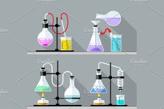 Chemical Research Laboratory by Sunny on @creativemarket