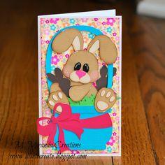 M. Miranda Creations: Easter Hop Project w/ Treasure Box Designs! #easter #card