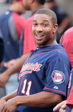 Ben Revere #11 of the Minnesota Twins.  Always a smile