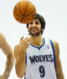 4b7213111 Ricky Rubio. Love the way he dishes the basketball! Nba Players