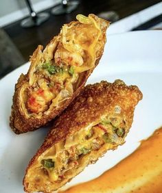 Crawfish Egg Rolls | Tony Chachere's Creole Recipes, Cajun Recipes, Seafood Recipes, Appetizer Recipes, Cooking Recipes, Cajun Food, Asian Recipes, Asian Appetizers, Meat Recipes