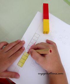 Teach preschoolers Number Bonds - Singapore Math
