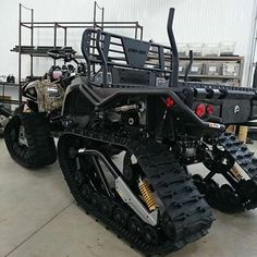 Can-Am 6X6 on tracks