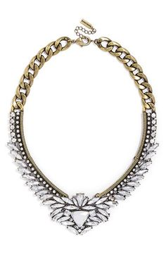 BaubleBar 'Trillion' Crystal Collar Necklace available at #Nordstrom