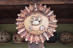 Sluníčko z Vysočiny (M) na obj. Crafts For Kids, Arts And Crafts, Clay Art, Pottery, Ceramics, Abstract, Creative, Inspiration, Ideas