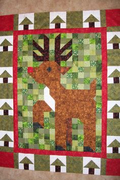 Need a fun project to sew and a special wall hanging for Christmas?  Check out this Santa's Reindeer quilt in my blog http://howtohandquiltandmore.blogspot.com/2013/09/celebrate-christmas-with-santas-special.html