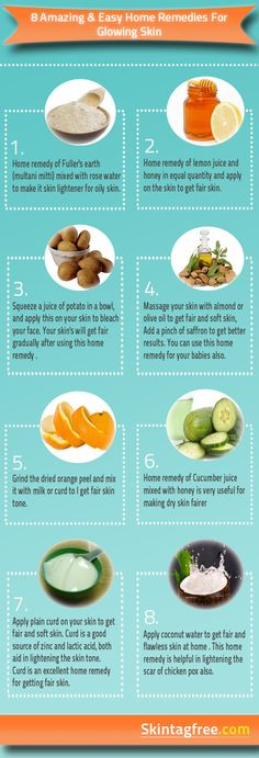 8 Amazing And Easy Home Remedies For Glowing Skin