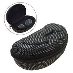 Large Sunglasses Eyeglasses Eye Glasses Case with Zipper by uxcell. $5.94. This stylish and attractive Large Eye Glasses Case is lightweight & extremely durable. Dimension: ~15.5(L) x 7.5(W) x 5(H)cm. Fibrous outer material, and peapod shape provide good crush, shock, and scratch resist as well as a neat look. Provide excellent protection for your eyewear, use this Eyeglasses Case to safely carry your glasses. Simple, unique Eye Glass Case designed with zipper closur...
