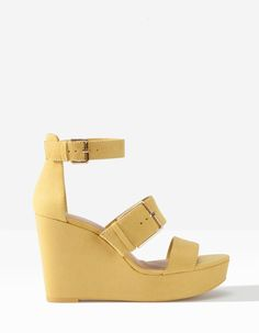 Sandales plateforme boucles