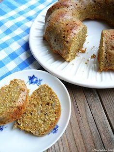 Delicious blog: Mrkvová bábovka se slunečnicovými semínky Delicious Blog, Banana Bread, French Toast, Cheesecake, Paleo, Food And Drink, Baking, Breakfast, Desserts