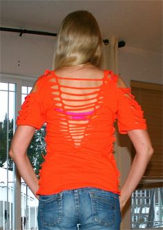 1000 images about cute cut up shirt designs on pinterest for Ways to design t shirts