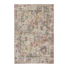Louis de Poortere Antiquarian Topkapi Multi 8711 Vloerkleed 280 x 200 cm Jacquard Loom, Woven Rug, Decoration, Starters, Colours, Retro, Rugs, Vintage, Design