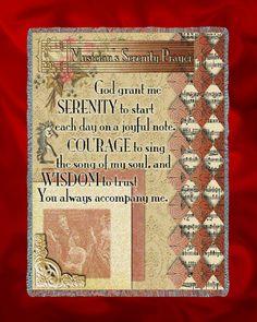 Musician's Serenity Prayer