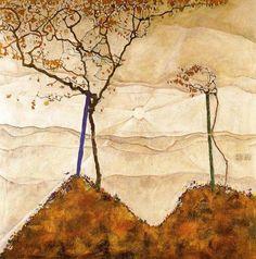 Egon Schiele - Autmunn Tree