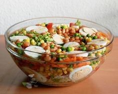 Nigerian Salad - This salad is packed with flavor!