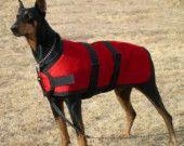 Large Dog Coat size 29 custom made