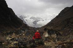 Photo Le glacier du Jomolhari - Matthieu Ricard