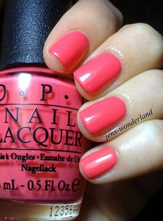 OPI: Suzi's Hungary Again! I GOT MY NAILS DONE IN THIS COLOR!! #The Face and The Body Spa! And I HAVE THIS COLOR!!