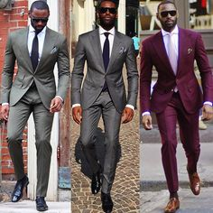 Every man looks his best wearing a suit #MusikaFrere