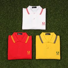 Fred Perry Country Polo Shirts - Support Your Team!