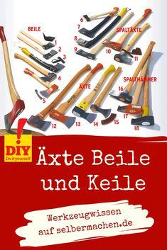 Beil, Workshop, Tools, Ribbons, Turning, Work Shop Garage, Make Your Own, Simple, Homes