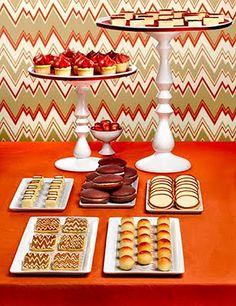 #Missoni inspired #dessert #table