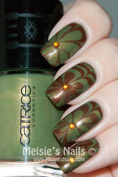 Fall Water Marble