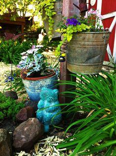 Wisconsin hobby farm garden