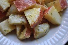 simple, healthy potato salad