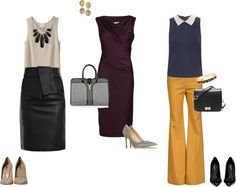 """""""Sleeveless Workplace Style"""" by ramshackleglam ❤ liked on Polyvore"""