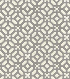 Waverly Modern Essentials Print Fabric- In The Frame Mineral at Joann.com