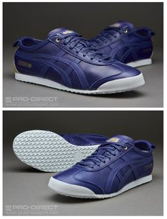 Onitsuka Tiger Mexico: Blue Leather