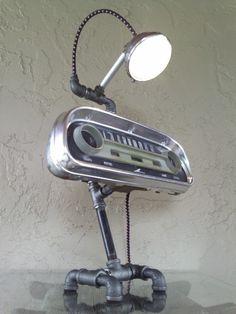 Upcycled Repurposed Vintage Automotive Speedometer - LOVE!!