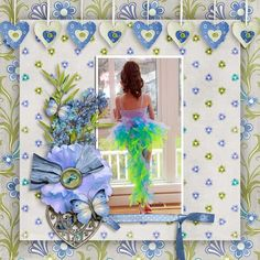 Layout of the Day for the 1st July 2016 - Gotta Pixel created with Perfectly Paris Collection by Kathryn Estry