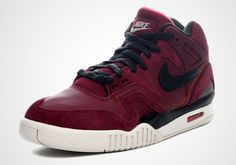 Nike Air Tech Challenge II – Burgundy – Black