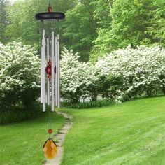 #Chakra Chimes Amber.  Amber represents the Sacral Chakra, which is related to creativity and enthusiasm. A properly functioning Sacral Chakra equates to being physically healthy, and having your emotional life working well, too. This area is associated with creativity, both on the physical and artistic levels. #amber #chimes #windchimes