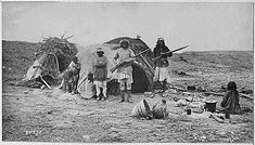 Apache Warriors House in Arizona.....Indian Pictures: Native American Photos of the Apache
