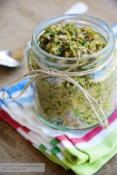 Vegan Kale and Walnut Pesto