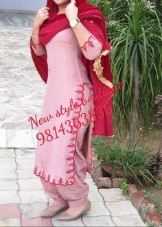 Designer Punjabi Suits Patiala, Punjabi Suits Designer Boutique, Patiala Suit Designs, Boutique Suits, Indian Designer Suits, Simple Kurti Designs, Stylish Dress Designs, Designs For Dresses, Punjabi Suits Party Wear