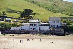 Pilchard Inn, Burgh Island in South Devon
