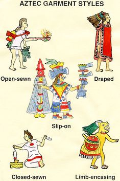 aztec priest clothing - Google Search
