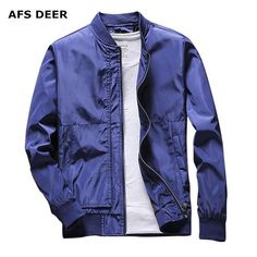 a3f5cb82b7e Brand 2018 Jacket Men Fashion Casual Slim fit Mens Jacket Sportswear Bomber  Jacket Mens jackets and