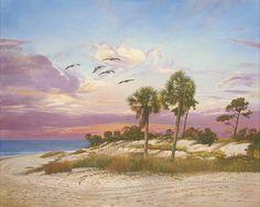 Makin Tracks  www.keithmartinjohns.com Florida, Fine Art, Art Prints, Projects, Painting, Log Projects, Painting Art, Paintings, Paint