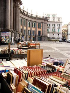 Piazza Dante, Naples, Italy