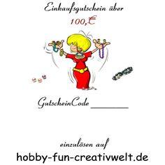 Gutscheine auf Hobby-dun-creativwelt.de