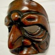 Prepostero character leather mask