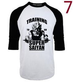 Men's Super Saiyan Gym Shirt
