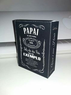 Caixa whisky dia dos pais